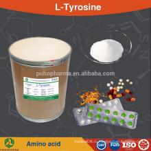 GMP заводское снабжение 1-тирозин пищевой сорт аминокислоты