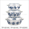 9 '' Pyrex Glass Baking Bowls with Decal Design (GB13G13265-TH)
