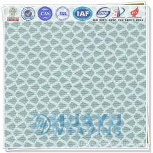 YT-1496, tissu en maille tricotée en polyester 3 coussin