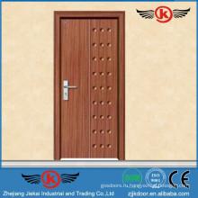 JK-P9013 JieKai пвх пленка обернутая дверь / MDF интерьер ПВХ деревянная дверь / ПВХ профиль для окон и дверей