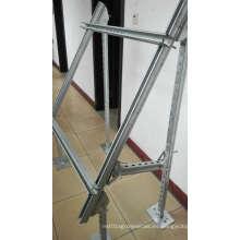 Estructura de acero de los sistemas solares, soporte del picovoltio