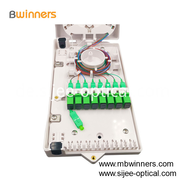 8 Ports Fiber Optic Termination Box