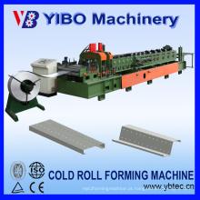 Yibo Maquinaria Automática Trocou C / Z Perfil Aço Roda Purlin Máquina Anterior