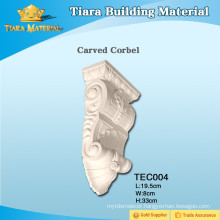Low price polyurethane carved corbels