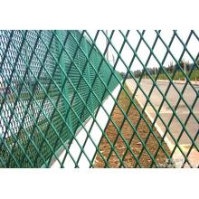Expanded Mesh Fence Used for Protection