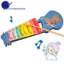 Lovely Jack mouse Mão Knock Baby Toy Xilofone Piano