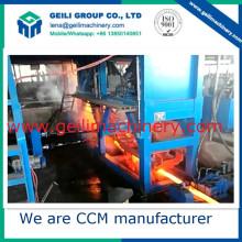 Equipamento de fabricação de aço / Máquina de fundição contínua completa de máquina