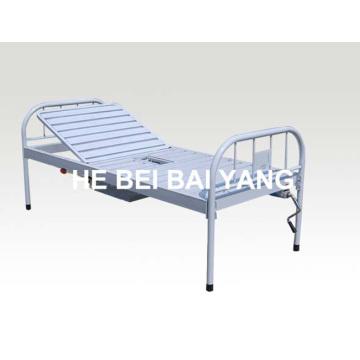 A-191 Toda a cama de hospital com função única de plástico e pulverizado