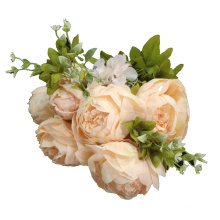 European 13   heads   core peony for Wedding Decoration  living room table decoration flower simulation flower