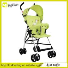Carrinho de bebê removível do dossel para a venda, rodas do buggy do bebê