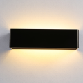 Aplique de pared LED negro simple de 5W
