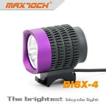 3 púrpura Maxtoch BI6X-4 * CREE 2800 Lumen brillante T6 LED bicicleta Dinamo Light Set