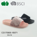 Hot Sale High Quality Pcu Simple Ladies Slippers