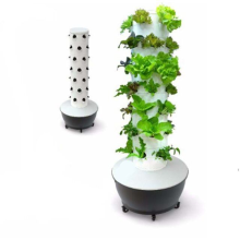 Garden hydroponic tower growing flower water tank systems