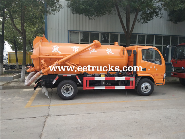 Sewage & Fecal Suction Trucks