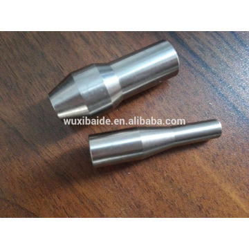 OEM customized cnc turning titanium /aluminum / steel textile machinery parts forging and milling textile machine parts