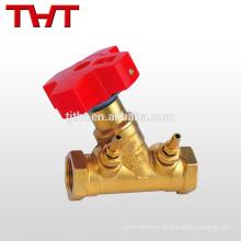 Válvula de equilibrio de latón estático forjado aprobado por CE