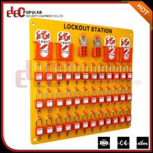 Elecpopular Últimos Productos Safe Pad Lock Lockout Stations