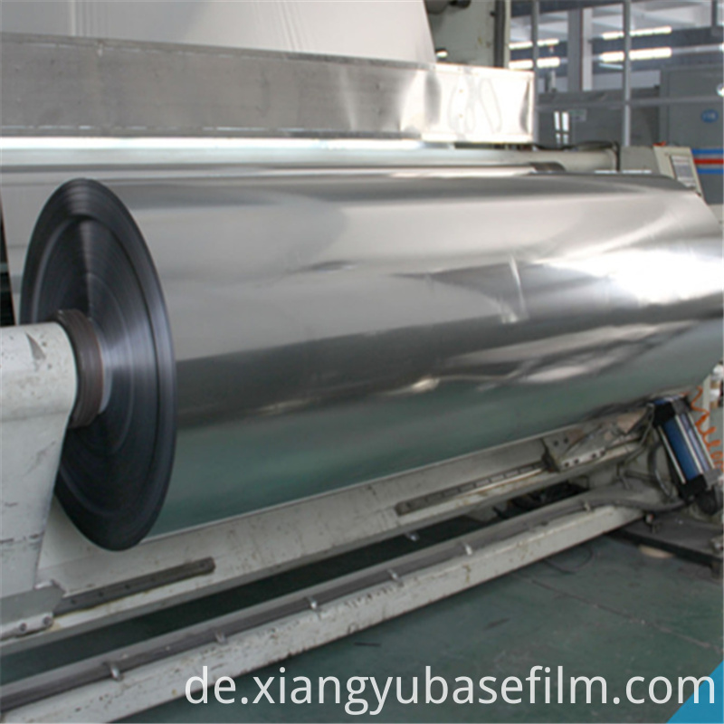 Heat Insulation Silver Release Liners Metallization Film 3