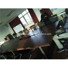 Rectangle durable 14 table de salle de réunion Seaters avec chaises (FOH-P3614)