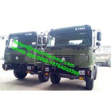 All Wheel Drive Styer Axle Sinotruk Dumper Truck