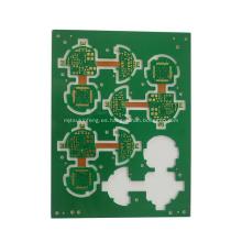 Placa de circuito de alta calidad FR4 multicapa pcb / rígida flex