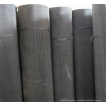 Black Wire Mesh / malla de alambre de acero / tela de alambre negro