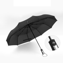 Promotion Good Cheap Price High Quality Strong Windproof Automatic 3 Folding Umbrella