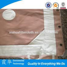 Tecido poliéster 120-7 para filtro prensa pano