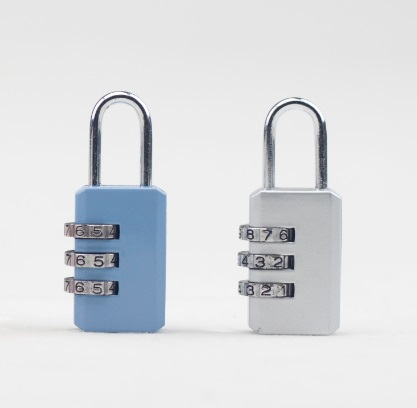 Solid Colorful Zinc Alloy Lock