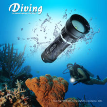 CREE XM-L2 U2 Unterwasseratemgerät Unterwasser 2 * 18650 Batterie Fotografie Studio Lichter