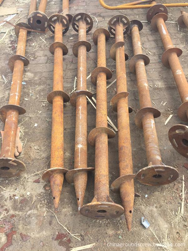ground screw pile 2
