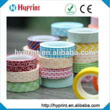 all kinds of patterns promotional lovely Japanese cute washi, tape diy