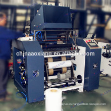 Máquina de rebobinadora de película completa automática