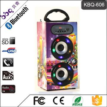 BBQ KBQ-606 10W 1200mAh Home Theater System Speaker Bluetooth DJ Bass Speaker
