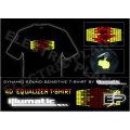 [Stunningly]Wholesale 2009 fashion hot sale T-shirt A107,el t-shirt,led t-shirt