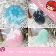 Esponja Konjac 100% Original / Esponja de Limpeza Facial Konjac / Esponja Facial Konnyaku