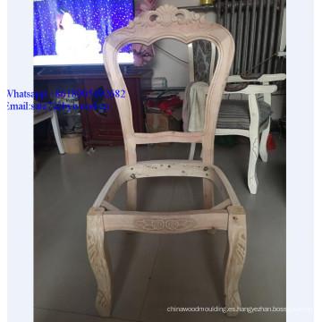 Muebles para el hogar silla barata marcos antiguos tallados muebles de comedor talla de madera silla marco