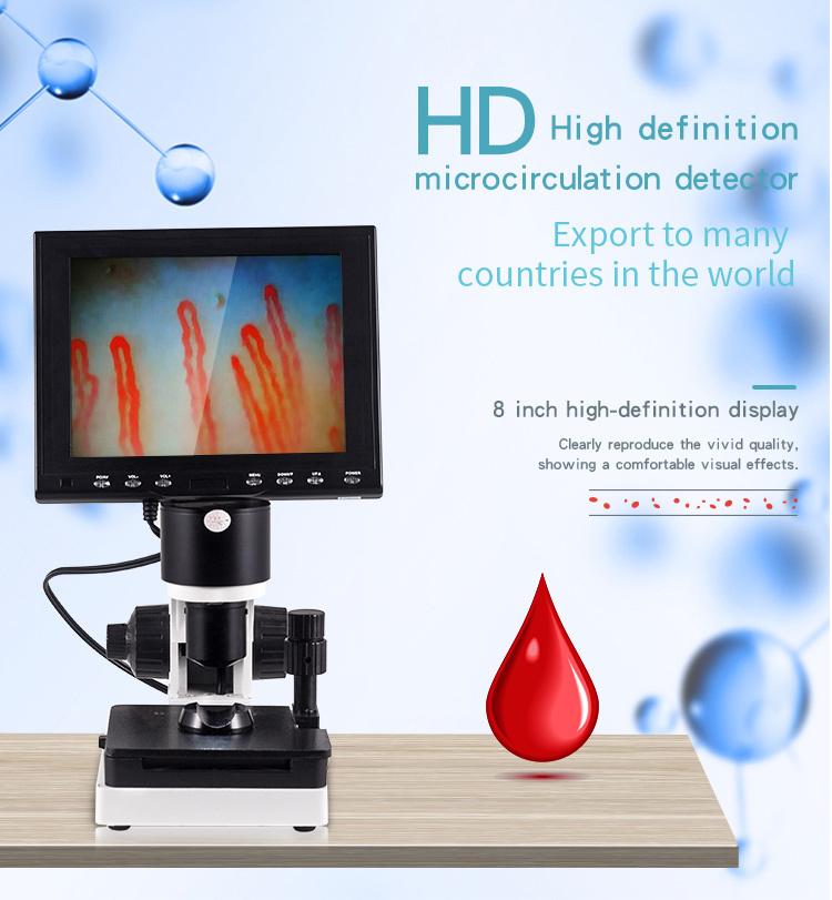 Nailfold Micirculation Microscope Detector
