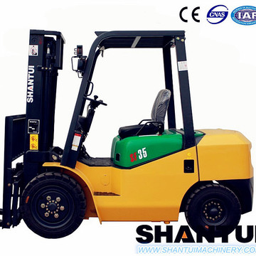 3.5 t forklift truck price with solid tire
