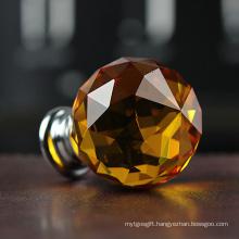 35mm Orange Crystal Ball Crafts for Room Decoration