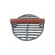 Wholesale Round Cooking Meat Burger Flat Cast Iron Grill Bacon Press
