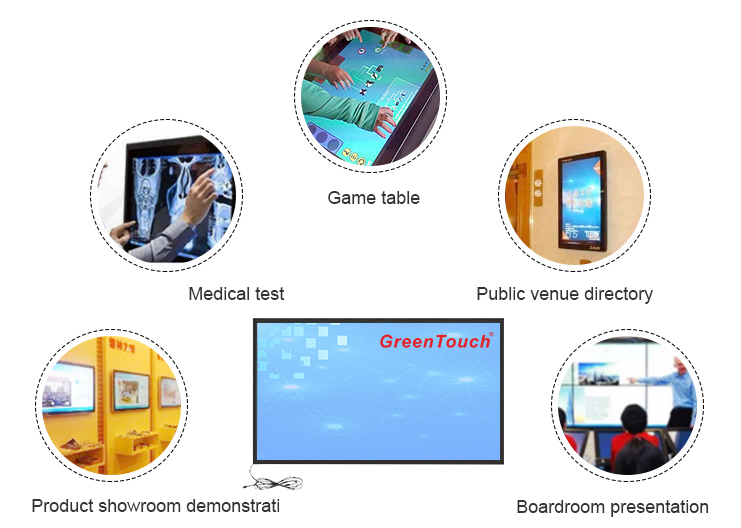 Multi-touch Infrared Touch Screen
