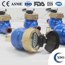 Compteur de débit de l'eau photoélectrique lecture directe