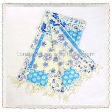 Шерсть пашмины шарф/чистого шерсть шарф