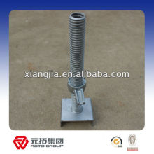 38*4*600mm Hollow Screw Jack Base for construction used in Dubai