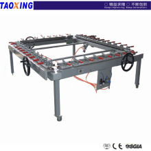 china factory design and made lower price high precisionTX- LW1212 mesh stretching machine