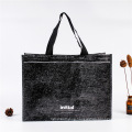 Custom Promotional Foldable Cheap Woven Tote Shopping Bag Recyclable Woven Bag