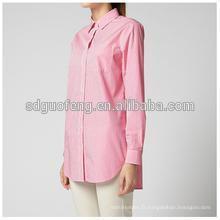 Tissu de popeline spandex des années 40 pour chemises 40 * 40 + 40D 133 * 72