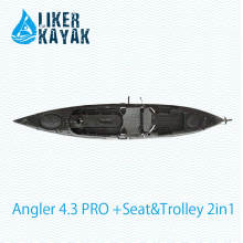 Stable Quality LLDPE/HDPE Plastic Fishing Kayak Factory OEM/ODM Available
